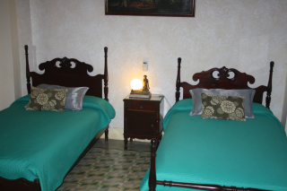 Beds in the Executive Room